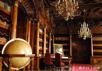 Interiér zámku Hluboká nad Vltavou