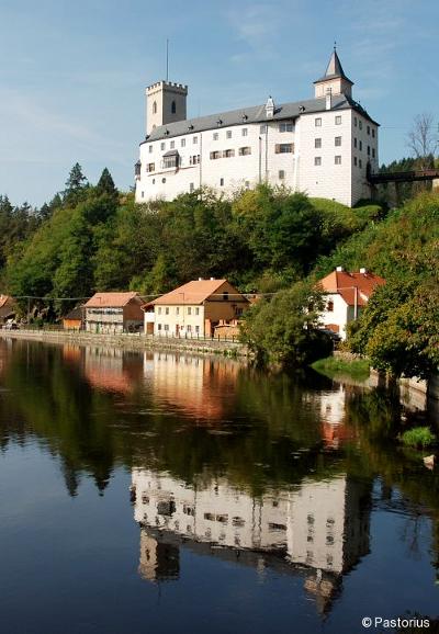 Hrad Rožmberk - Dolní hrad